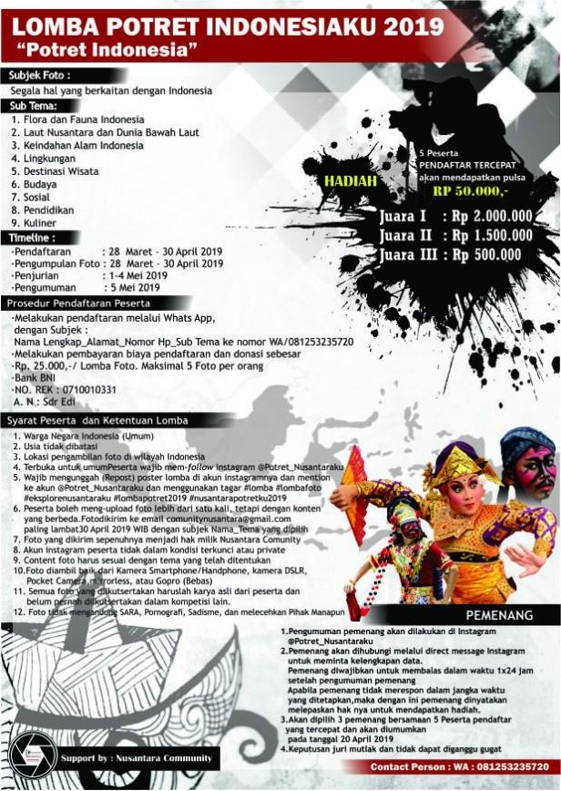 lomba-potret-indonesiaku-2019
