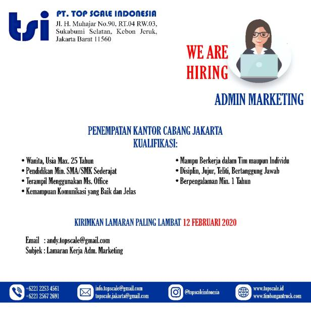 admin marketing