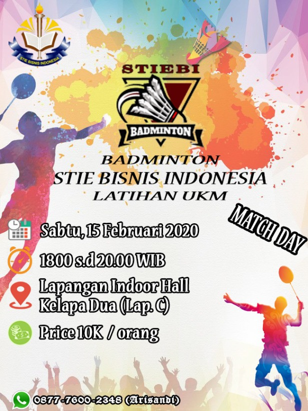 badminton stiebi