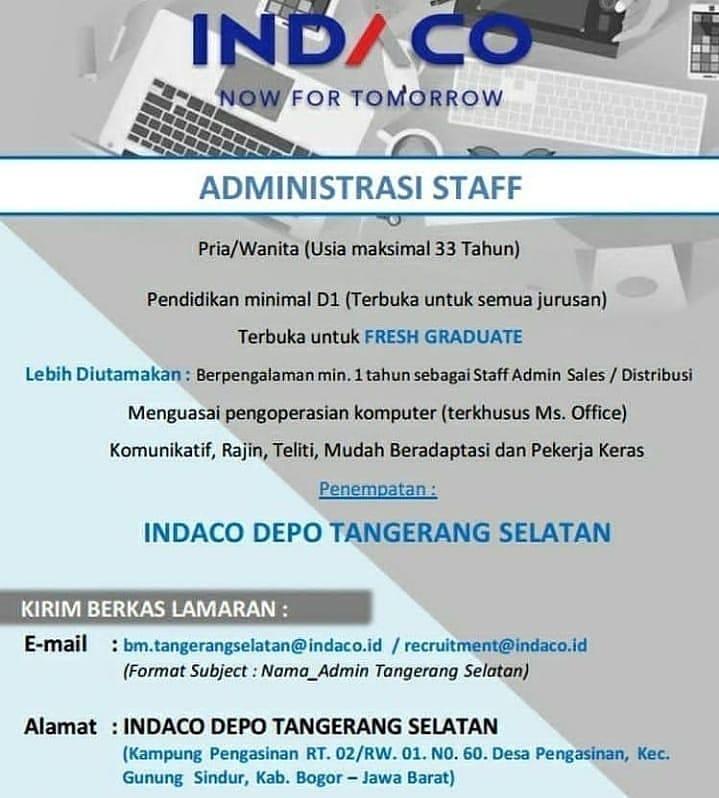 Lowongan Kerja Part Time Sabtu Minggu Di Tangerang Selatan